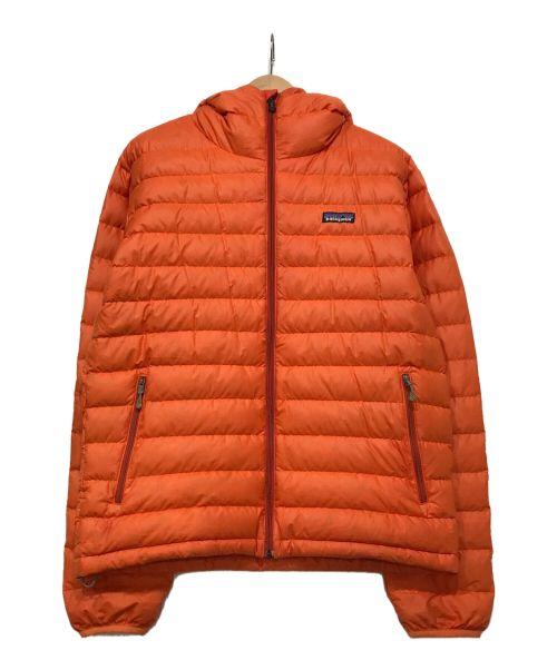 Patagonia(パタゴニア)Patagonia (パタゴニア) ダウンジャケット オレンジ サイズ:Sの古着・服飾アイテム