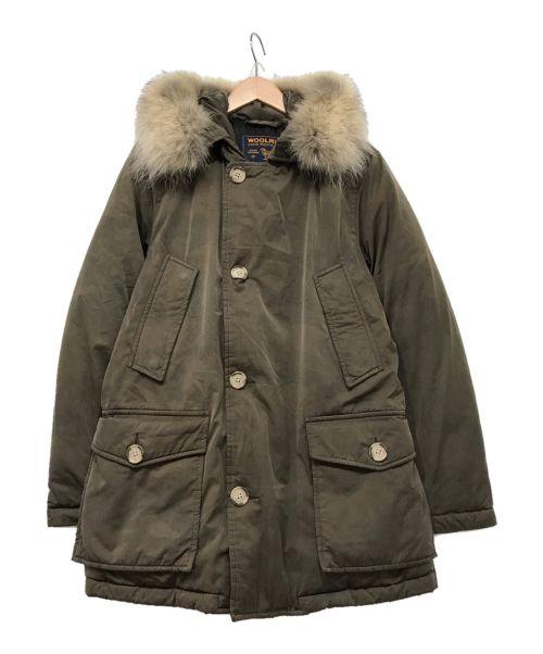 WOOLRICH(ウールリッチ)WOOLRICH (ウールリッチ) ダウンジャケット ブラウン サイズ:XXSの古着・服飾アイテム