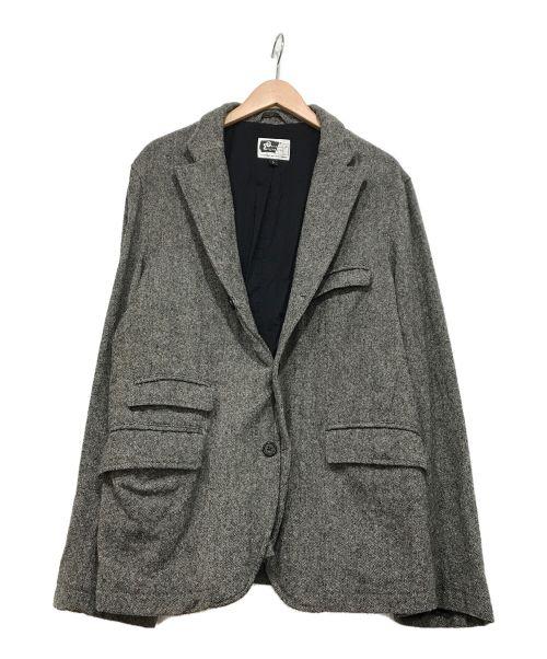 Engineered Garments(エンジニアドガーメンツ)Engineered Garments (エンジニアドガーメンツ) ウールジャケット グレー サイズ:Lの古着・服飾アイテム