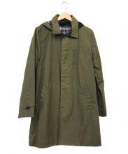 JOHNBULL(ジョンブル)の古着「オイルドコットンコート」|オリーブ