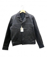 Rags McGREGOR(ラグス マクレガー)の古着「ゴートスキンジャケット」|ブラック