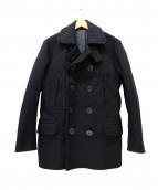 PHERROWS(フェローズ)の古着「13スターボタンPコート」|ブラック