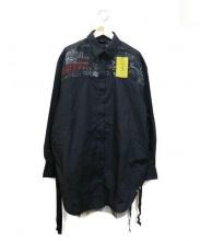 DIESEL(ディーゼル)の古着「C-GESIEN SHIRT」|ブラック