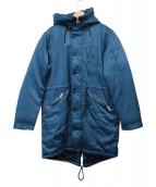 Paul smith JEANS(ポールスミスジーンズ)の古着「ミリタリーダウンコート」|ブルー
