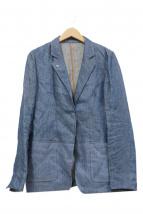 ARTISAN(アルチザン)の古着「ダンガリーリネンジャケット」