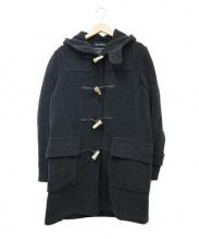 GLOVERALL(グローバーオール)の古着「ロングダッフルコート」|チャコールグレー