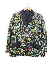 LEONARD(レオナール)の古着「シルク混ウールジャケット」|マルチカラー