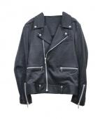BRIGHT THINGS(ブライトシングス)の古着「ライダースジャケット」|ブラック