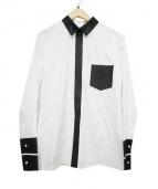 Martin Margiela4(マルタンマルジェラ 4)の古着「クレリックシャツ」|ホワイト