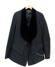 ALEXANDER WANG(アレキサンダーワン)の古着「ランウェイテーラードジャケット」 ブラック