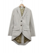 GIVENCHY(ジバンシー)の古着「テールジャケット」|ベージュ