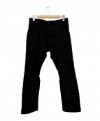 DSQUARED2(ディースクエアード)の古着「裾ジップバイカーデニムパンツ」|ブラック