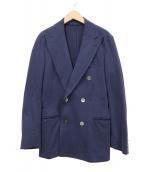 UNITED ARROWS(ユナイテッド アローズ)の古着「ダブルジャケット」 ブルー