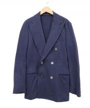UNITED ARROWS(ユナイテッド アローズ)の古着「ダブルジャケット」|ブルー