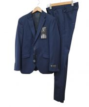TETE HOMME(テットオム)の古着「セットアップスーツ」|ネイビー