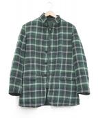 ASPESI(アスぺジ)の古着「リバーシブル中綿ジャケット」|グリーン