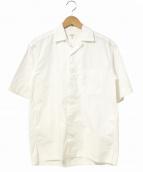 Scye(サイ)の古着「タンボマチャイポプリンオープンカラーシャツ」|ホワイト