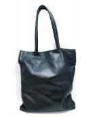 Jas-M.B.(ジャスエムビー)の古着「レザートートバッグ」|ブラック