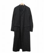nude:MASAHIKO MARUYAMA(ヌード:マサヒコマルヤマ)の古着「バックスリットロングチェスターコート」