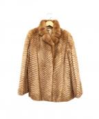 SAGA MINK(サガミンク)の古着「ミンクファージャケット」|ブラウン
