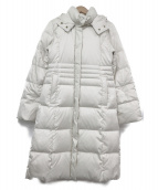 M-premier(エムプルミエ)の古着「ダウンコート」|ホワイト