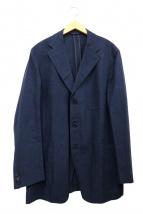 Belvest(ベルベスト)の古着「3Bウールリネンジャケット」