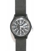 TIMEX(タイメックス)の古着「コラボリストウォッチ」|ブラック