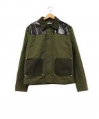 GIVENCHY(ジバンシィ)の古着「ポリパッチハンティングジャケット」|グリーン