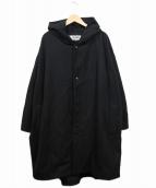 BASISBROEK(バーシスブルック)の古着「ウールブレンドフーデッドコート」