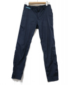 FACTOTUM(ファクトタム)の古着「ポケッタブルスラックス」 ブルー
