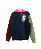 Supreme(シュプリーム)の古着「S Logo Colorblocked Hooded」