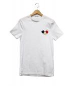 MONCLER(モンクレール)の古着「ロゴワッペンTシャツ」