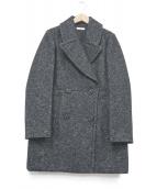 IENA(イエナ)の古着「中綿Pコート」|ブラック