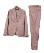 DOLCE & GABBANA(ドルチェアンドガッバーナ)の古着「セットアップスーツ」|ピンク