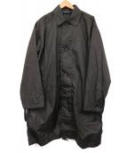 SOFIE D'HOORE(ソフィードール)の古着「ライトシェルステンカラーコート」 ブラック