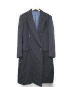 LORO PIANA(ロロピアーナ)の古着「カシミヤコート」|ネイビー