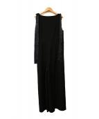 Lois CRAYON(ロイスクレヨン)の古着「オールインワン」|ブラック