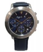 agnes b(アニエスベー)の古着「腕時計」|ブルー
