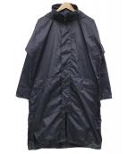 BASISBROEK(バーシスブルック)の古着「リップストップナイロンコート」 ダークグレイ