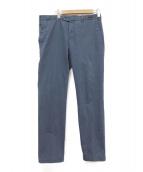 PT01(ピーティーゼロウーノ)の古着「トラウザーパンツ」|ブルー