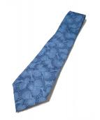 CHANEL(シャネル)の古着「シェル柄ネクタイ」|ブルー