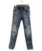 DIESEL(ディーゼル)の古着「デニムライクジョグパンツ」|ブラック