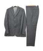 BOSS HUGO BOSS(ボス ヒューゴ ボス)の古着「セットアップスーツ」|ブラック
