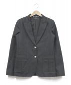 GUCCI(グッチ)の古着「GGクラシックボタンテーラードジャケット」|ブラック