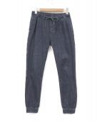 Ron Herman(ロンハーマン)の古着「デニムジョガーパンツ」|ブルー