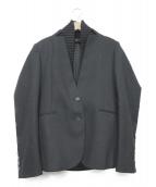 GUCCI(グッチ)の古着「リブラペルブレザー」|ブラック