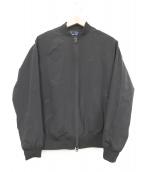FRED PERRY(フレッドペリー)の古着「ストレッチナイロンボンバートラックジャケット」 ブラック