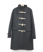 SAINT LAURENT PARIS(サンローラン パリ)の古着「ダッフルコート」 ブラック