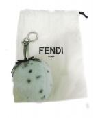 FENDI(フェンディ)の古着「いちごファーキーリング」