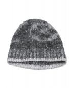 LOUIS VUITTON(ルイ・ヴィトン)の古着「スパンコールモヘア混ニット帽」|グレー